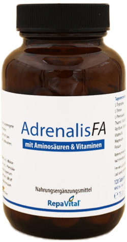 Adrenalis FA bei Stress, Müdigkeit und Erschöpfung