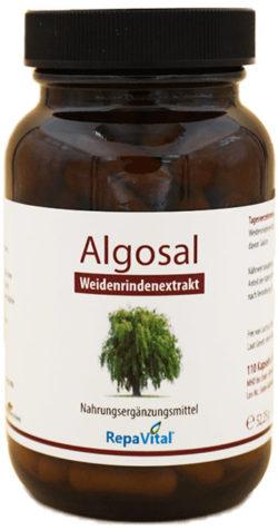 Natürliches Schmerzmittel aus Weidenrinde: Algosal