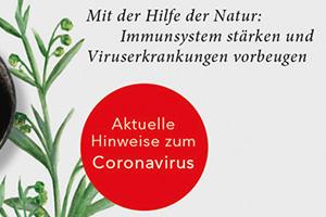 Natürliche Virenkiller Corona Virus