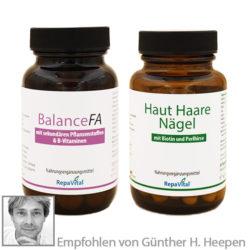 Produkt Paket für die Menopause bei Hitzewallungen, Haarausfall und vielem mehr