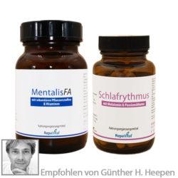 Mentalis FA und Schlafrythmus Produkt Paket bei Schlafstörungen und Konzentrationsstörungen