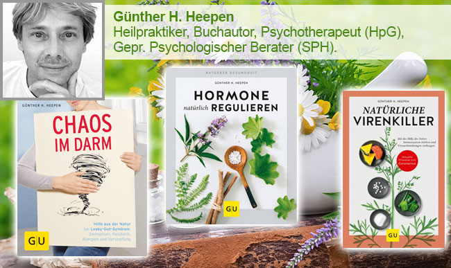 Den Körper natürlich heilen / unterstützen - Günther H. Heepen
