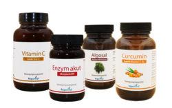 Unterstützung für das Immunsystem zur Grippezeit im akut Zustand Paket