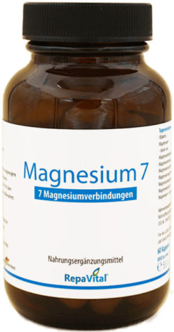 Magnesiummangel beheben mit Magnesium 7